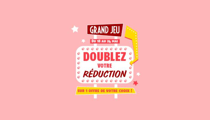 Concours Coupon Network Doubler Bons Reductions