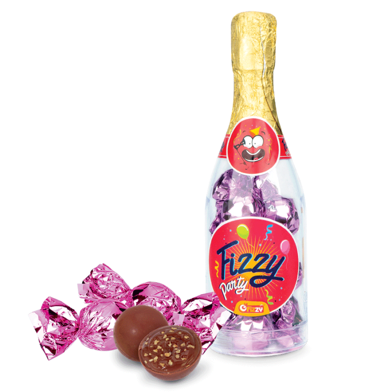 Fizzy bouteille bouchees chocolatees-