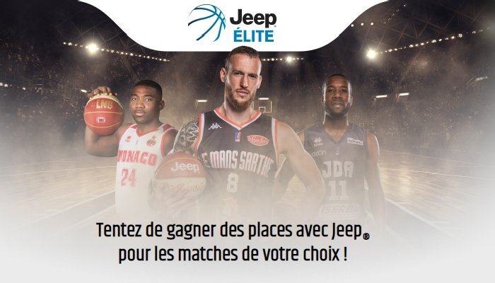 Invitations Gratuites Jeep Elite Challenge