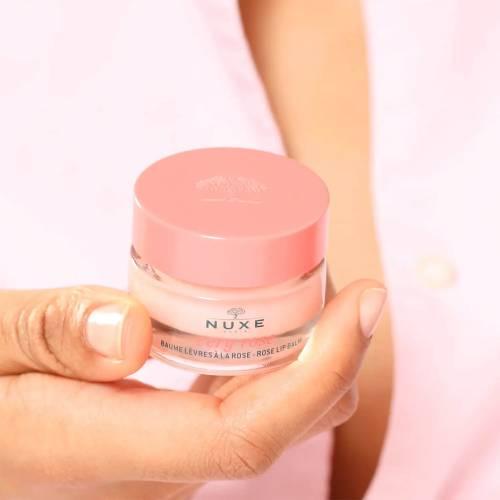 Pot Baume hydratant lèvres à la rose