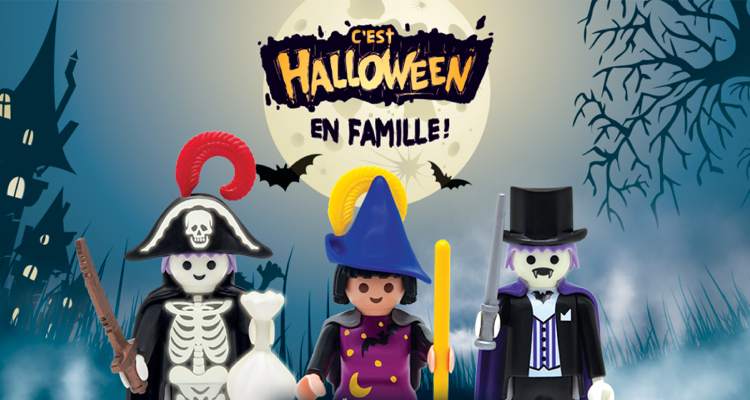 Fast Food Quick : Halloween cadeaux = Collection Figurines Playmobil !